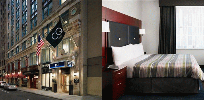 Bilde av hotellet Club Quarters Hotel in Boston - nummer 1 av 20