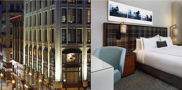 Bilde av hotellet The Godfrey Hotel Boston - nummer 1 av 36