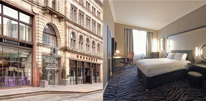 Bilde av hotellet DoubleTree by Hilton Edinburgh City Centre - nummer 1 av 59