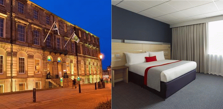 Bilde av hotellet Holiday Inn Express - Edinburgh City Centre - nummer 1 av 30
