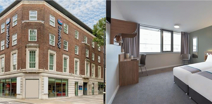 Bilde av hotellet Travelodge London Central Waterloo - nummer 1 av 9