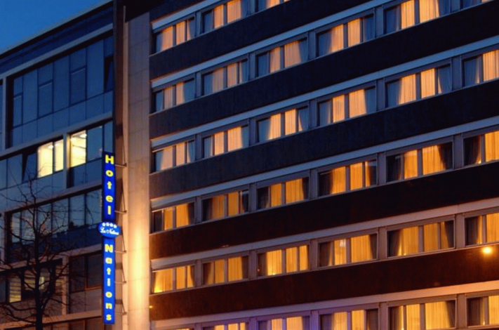 Bilde av hotellet Les Nations - nummer 1 av 10