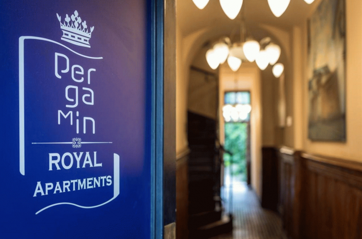 Bilde av hotellet Pergamin Royal Apartments - nummer 1 av 12